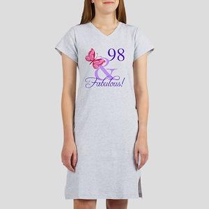 Fabulous 98th Birthday Women's Nightshirt