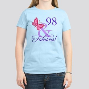 Fabulous 98th Birthday Women's Light T-Shirt