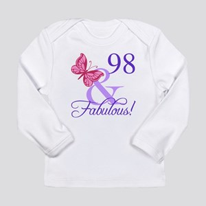 Fabulous 98th Birthday Long Sleeve T-Shirt