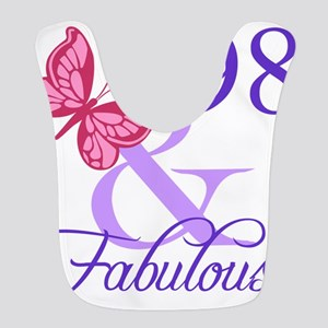 Fabulous 98th Birthday Bib