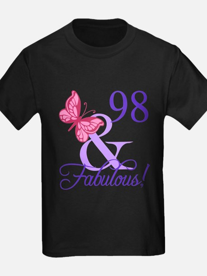 Fabulous 98th Birthday T-Shirt