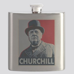 Winston Churchill Flask