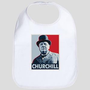 Winston Churchill Bib