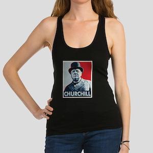 Winston Churchill Racerback Tank Top