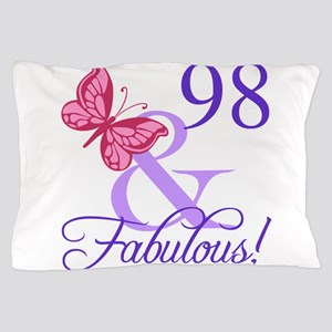 Fabulous 98th Birthday Pillow Case