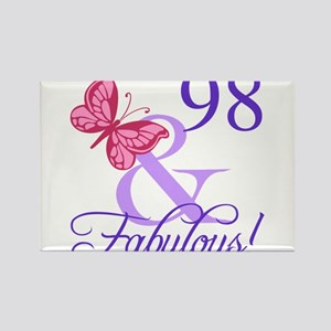 Fabulous 98th Birthday Magnets