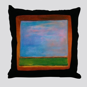ROTHKO'S WINDOW Throw Pillow