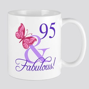 Fabulous 95th Birthday Mug
