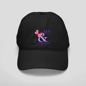 Fabulous 95th Birthday Black Cap