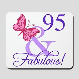 Fabulous 95th Birthday Mousepad
