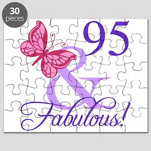 Fabulous 95th Birthday Puzzle