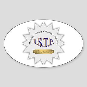 ISTP Sticker (Oval)