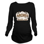 Arches National Park Long Sleeve Maternity T-Shirt
