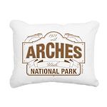 Arches National Park Rectangular Canvas Pillow