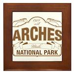 Arches National Park Framed Tile