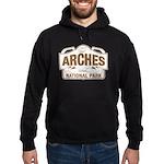 Arches National Park Hoodie (dark)