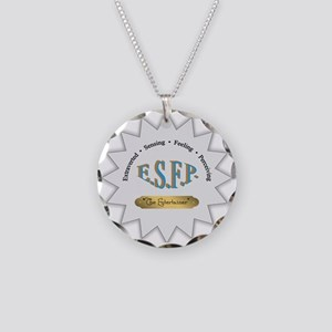 ESFP Necklace Circle Charm