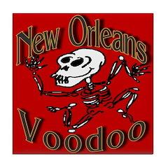 Voodoo Tile Coaster