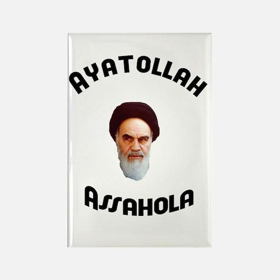 Homer's Ayatollah Assahola Rectangle Magnet
