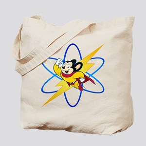 Mighty Mouse Lighting Atom Tote Bag