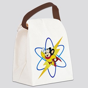 Mighty Mouse Lighting Atom Canvas Lunch Bag