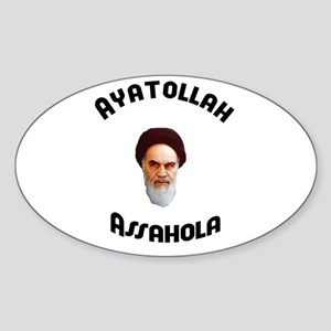 Homer's Ayatollah Assahola Sh Oval Sticker