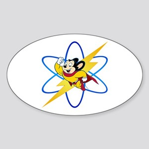 Mighty Mouse Lighting Atom Sticker