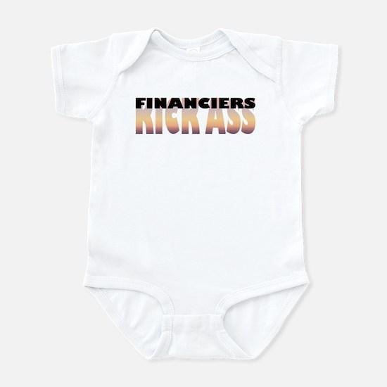 Financiers Kick Ass Infant Bodysuit