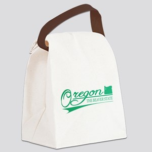 Oregon State of Mine Canvas Lunch Bag
