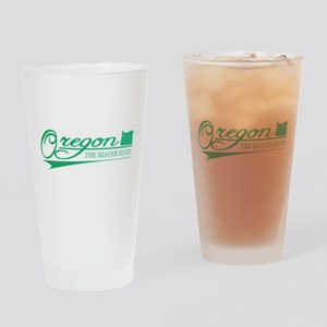 Oregon State of Mine Drinking Glass