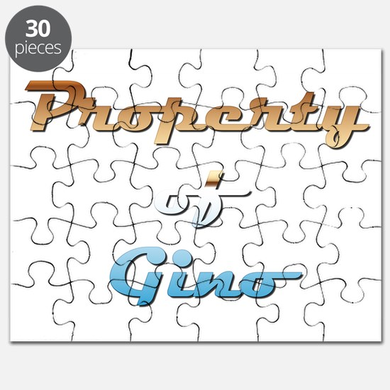 Property Of Gino Male Puzzle