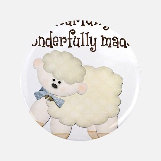 "Wonderfullymade_Sheep 3.5"" Button"