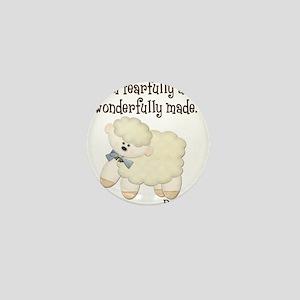 Wonderfullymade_Sheep Mini Button (10 pack)