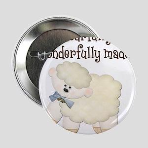 "Wonderfullymade_Sheep 2.25"" Button (10 pack)"