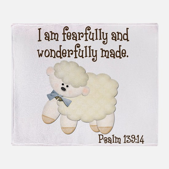 Wonderfullymade_Sheep Throw Blanket