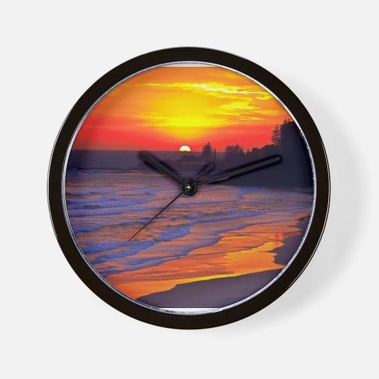 Cute Sunset Wall Clock