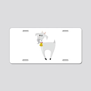 Billy Goat Aluminum License Plate