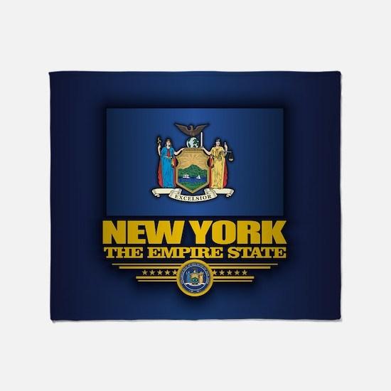 New York (v15) Throw Blanket