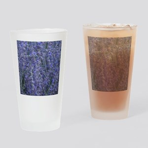 Lavender plants Drinking Glass