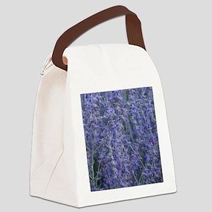 Lavender plants Canvas Lunch Bag
