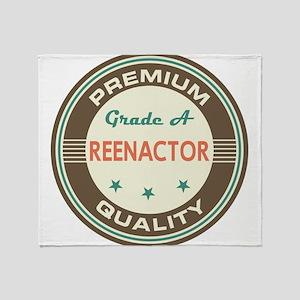 Reenactor Vintage Throw Blanket