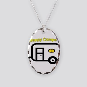 ITS AN AIRSTREAM THING Necklace Oval Charm