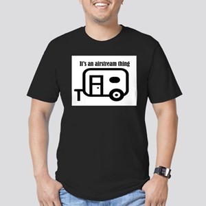 ITS AN AIRSTREAM THING Men's Fitted T-Shirt (dark)