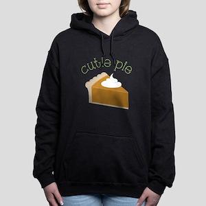 Cutie Pie Women's Hooded Sweatshirt