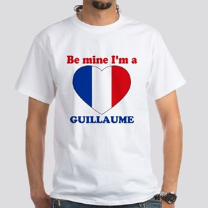 Guillaume, Valentine's Day White T-Shirt