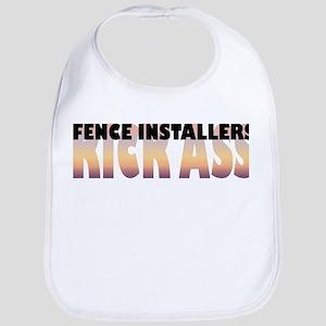 Fence Installers Kick Ass Bib