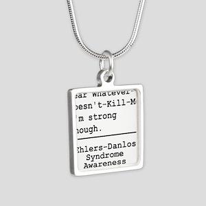 Im Strong Enough - EDS Awareness Necklaces