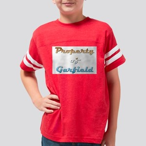 Property Of Garfield Male Youth Football Shirt