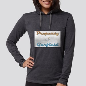Property Of Garfield Male Womens Hooded Shirt
