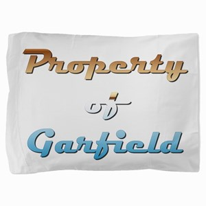 Property Of Garfield Male Pillow Sham